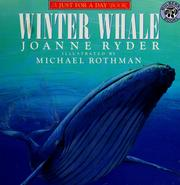 Cover of: Winter Whale (Just for a Day Book)