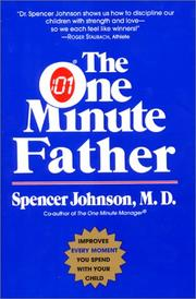 Cover of: The One Minute Father (One Minute Series)
