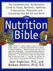Cover of: The Nutrition Bible