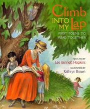 Cover of: Climb Into My Lap First Poems To Read Together: First Poems To Read Together