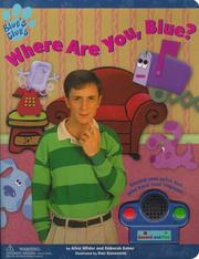 Cover of: Talk Back Books Where Are You Blue (Blue's Clues)
