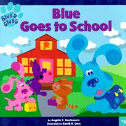 Cover of: Blue Goes to School