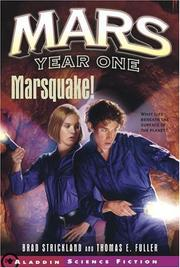 Cover of: Marsquake! (Mars Year One)