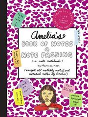 Cover of: Amelia's Book of Notes & Note Passing (Amelia)