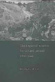 Cover of: The Regional Novel in Britain and Ireland