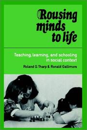 Cover of: Rousing Minds to Life