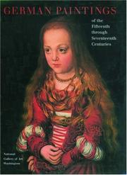 Cover of: German Painting of the 15th through 17th Centuries