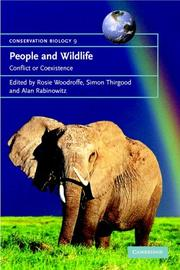 Cover of: People and wildlife