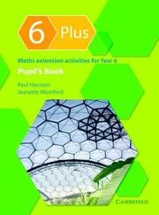 Cover of: 6 Plus Pupil's Book