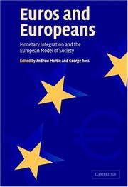 Cover of: Euros and Europeans