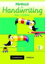 Cover of: Penpals for Handwriting Year 1 CD-ROM (Penpals for Handwriting)