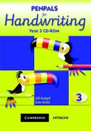 Cover of: Penpals for Handwriting Year 3 CD-ROM (Penpals for Handwriting)