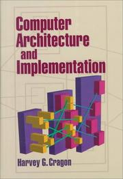 Cover of: Computer Architecture and Implementation