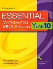Cover of: Essential Mathematics VELS Edition Year 10 Pack With Student Book, Student CD and Homework Book (Essential Mathematics)