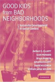 Cover of: Good Kids from Bad Neighborhoods