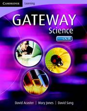 Cover of: Cambridge Gateway Science Science Class Book (Cambridge Gateway Sciences)