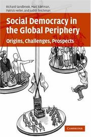 Cover of: Social Democracy in the Global Periphery