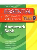 Cover of: Essential Mathematics VELS Edition Year 9 Homework Book (Essential Mathematics)