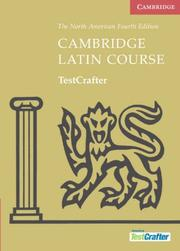 Cover of: Cambridge Latin Course TestCrafter (North American Cambridge Latin Course)