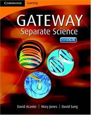 Cover of: Cambridge Gateway Sciences Separate Sciences Class Book (Cambridge Gateway Sciences)