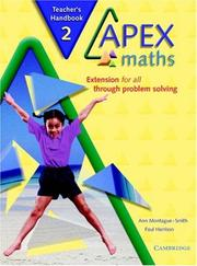 Cover of: Apex Maths 2 Teacher's Handbook