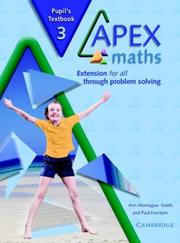 Cover of: Apex Maths 3 Pupil's Textbook