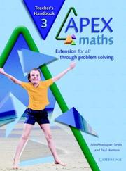 Cover of: Apex Maths 3 Teacher's Handbook