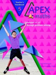 Cover of: Apex Maths 5 Teacher's Handbook