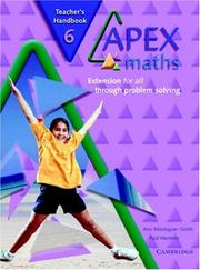 Cover of: Apex Maths 6 Teacher's Handbook