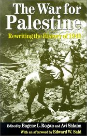 Cover of: The war for Palestine