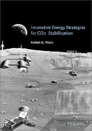 Cover of: Innovative energy strategies for CO₂ stabilization