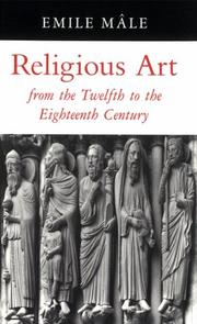 Cover of: Religious Art from the Twelfth to the Eighteenth Century