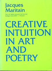 Cover of: Creative intuition in art and poetry