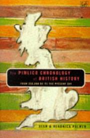 Cover of: The Pimlico chronology of British history