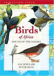 Cover of: Birds of Africa South of the Sahara (Princeton Field Guides)