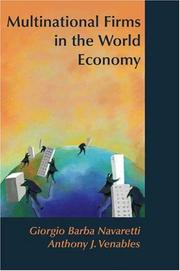 Cover of: Multinational Firms in the World Economy