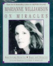 Cover of: Marianne Williamson On Miracles