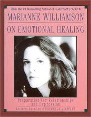 Cover of: Marianne Williamson on Emotional Healing