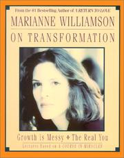 Cover of: Marianne Williamson On Transforming Your Life
