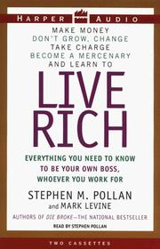 Cover of: Live Rich