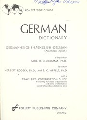 Cover of: Follett German English Dictionary