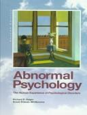 Cover of: Abnormal Psychology: Clinical Perspectives on Psychological Disorders