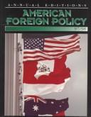 Cover of: American Foreign Policy 97/98 (American Foreign Policy, 1997/98)