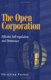 Cover of: The Open Corporation