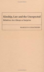 Cover of: Kinship, Law and the Unexpected