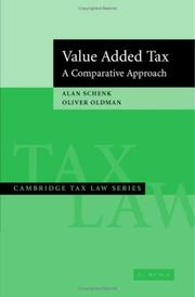 Cover of: Value Added Tax