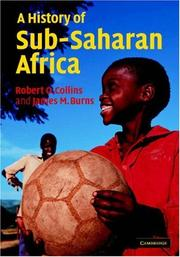 Cover of: A History of Sub-Saharan Africa