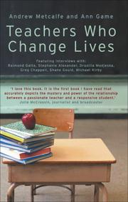Cover of: Teachers Who Change Lives