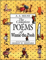 Cover of: The complete poems of Winnie-the-Pooh