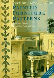 Cover of: Painted Furniture Patterns